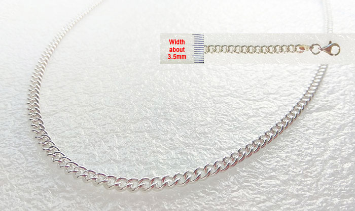 55cm Pain Relief Silver Germanium Bracelet with 99.9999 Germanium Purity from Korea