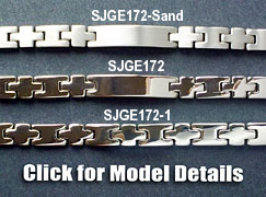 3 models of Germanium bracelet from Korea sell in Singapore